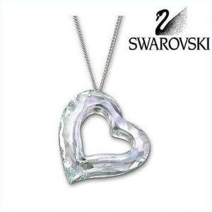 Swarovski Love Heart Crystal Necklace